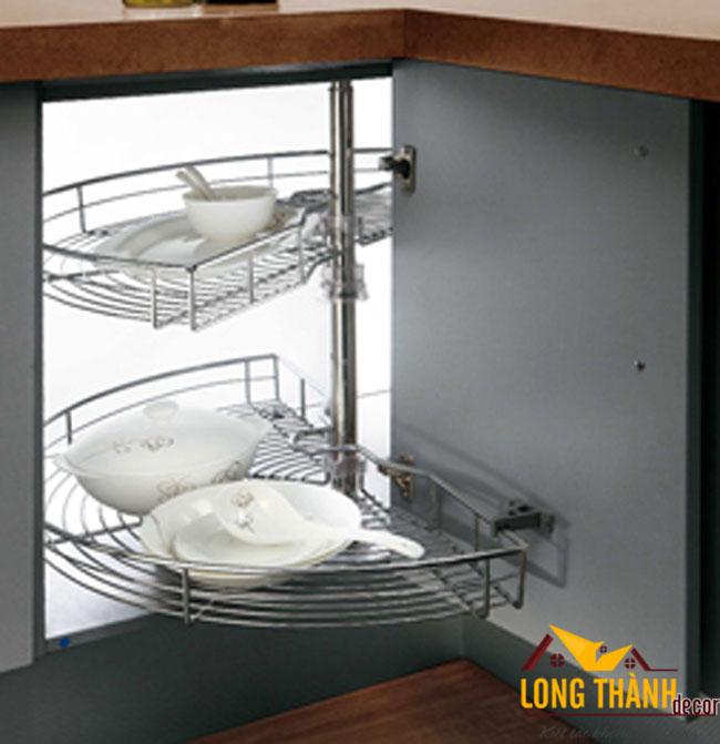Thiết kế mẫu tủ bếp gỗ Acrylic LT27