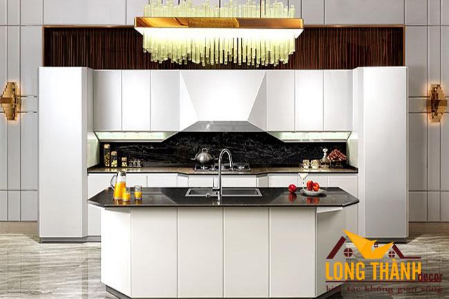 Tủ bếp gỗ Acrylic LT29