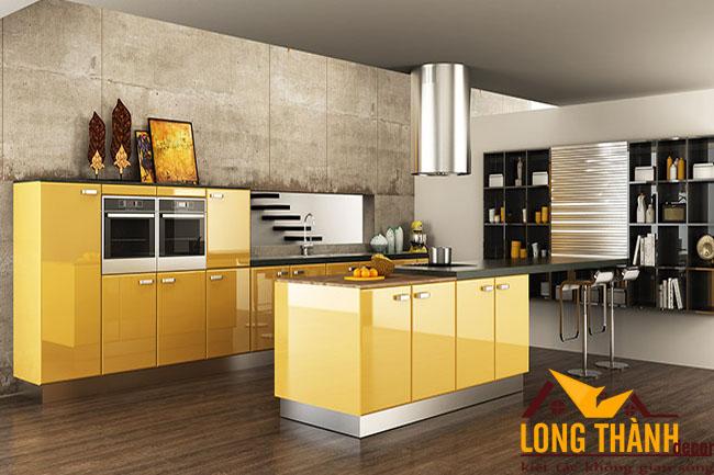 Tủ bếp gỗ Acrylic LT44