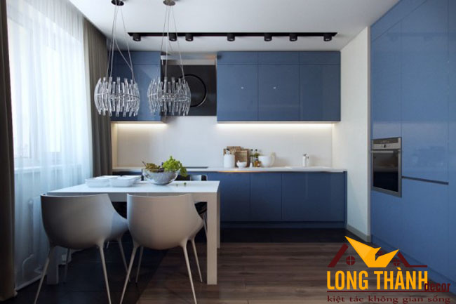 Tủ bếp gỗ Acrylic LT45