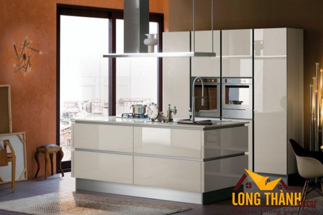 Tủ bếp gỗ Acrylic LT48