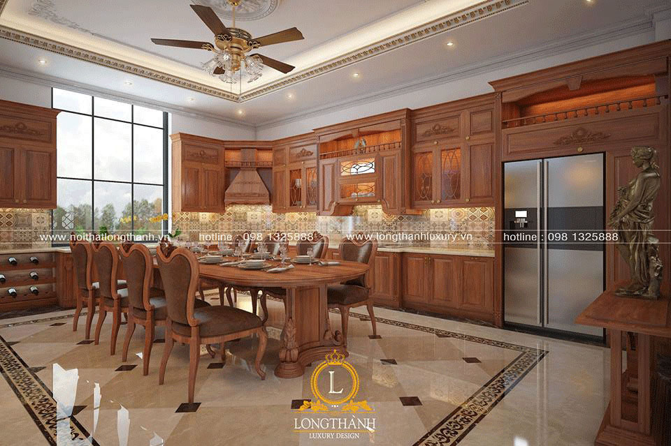 Thiết kế không gian phòng bếp đẹp