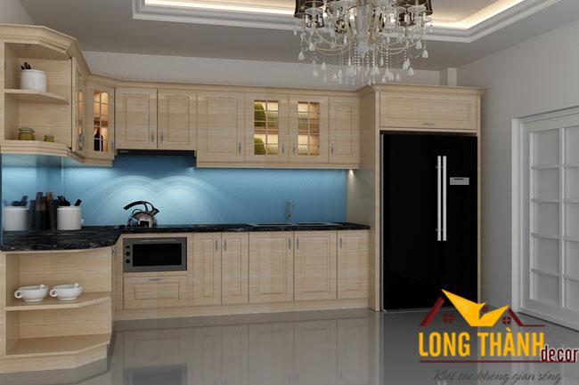 Tủ bếp gỗ Laminate LT11