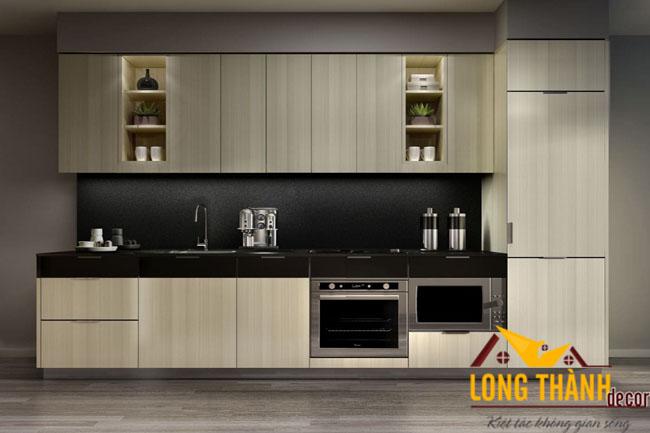 Tủ bếp gỗ Laminate LT15
