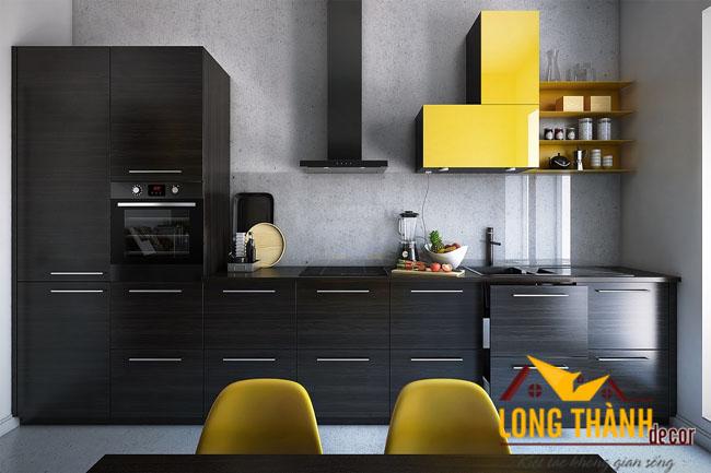 Tủ bếp gỗ Laminate LT18