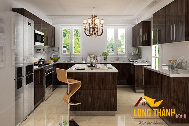 Tủ bếp gỗ Laminate LT23
