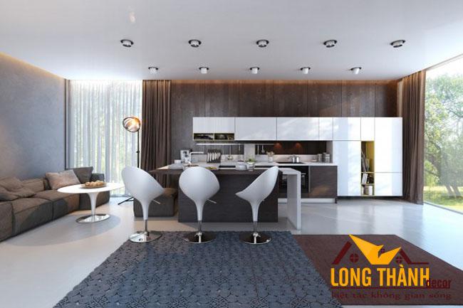 Tủ bếp gỗ Laminate LT24