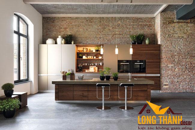 Tủ bếp gỗ Laminate LT27