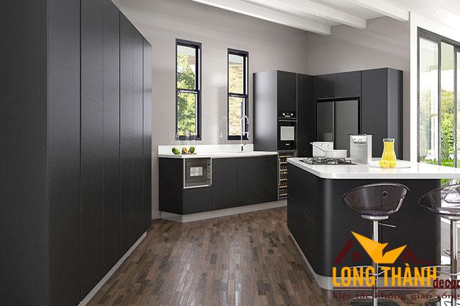 Tủ bếp gỗ Laminate LT29