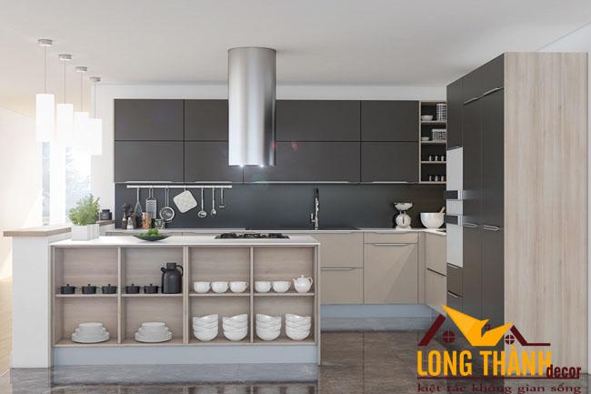 Tủ bếp gỗ Laminate LT30