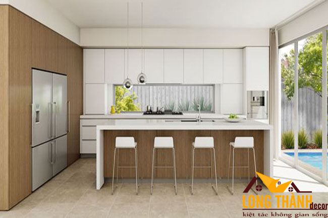 Tủ bếp gỗ Laminate LT31