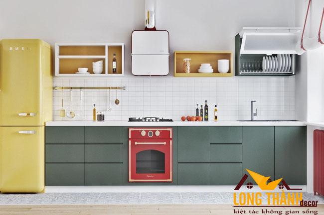 Tủ bếp gỗ Laminate LT38