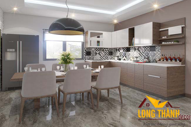 Tủ bếp laminate LT03