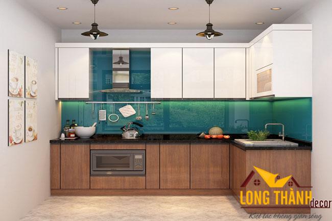 Tủ bếp Laminate LT13