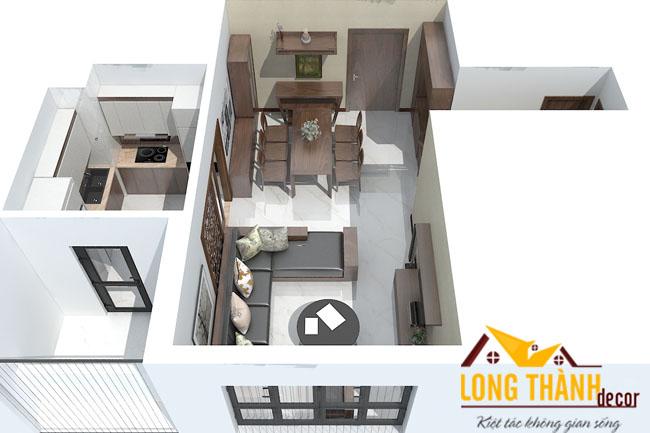 Tư vấn thiết kế nội thất chung cư đẹp diện tích nhỏ 90m2 Mulberry