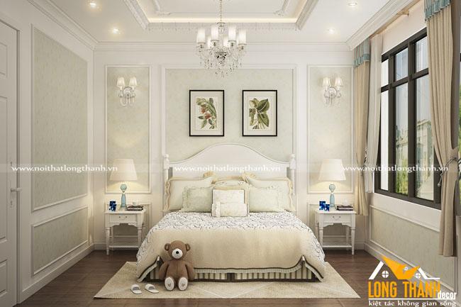 Xu hướng phòng ngủ tân cổ điển năm 2018