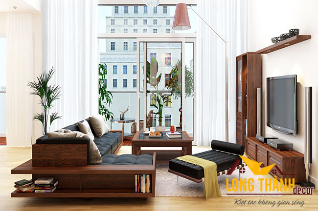 Xu hướng thiết kế nội thất chung cư đẹp năm 2016