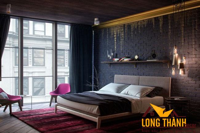 Xu hướng thiết kế phòng ngủ hiện đại năm 2017 dành cho không gian rộng