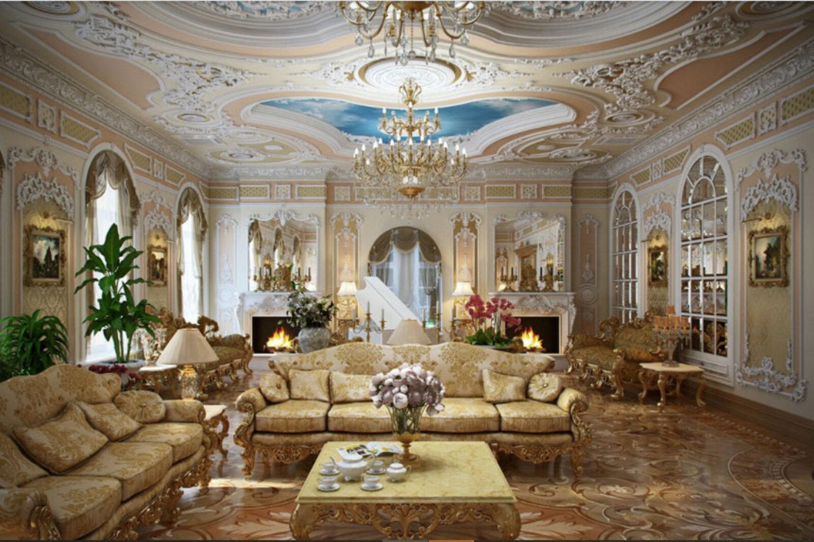 Phong cách nội thất Rococo. Dành cho tín đồ thích sang trọng, quí phái