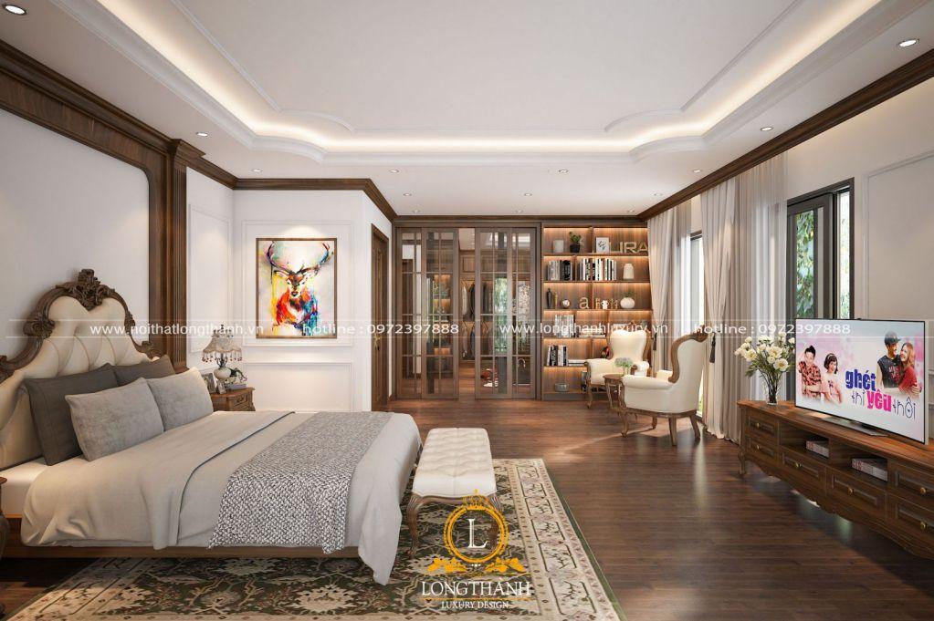 Dự án thiết kế nội thất phòng ngủ nhà anh Tùng tại Móng Cái - Quảng Ninh