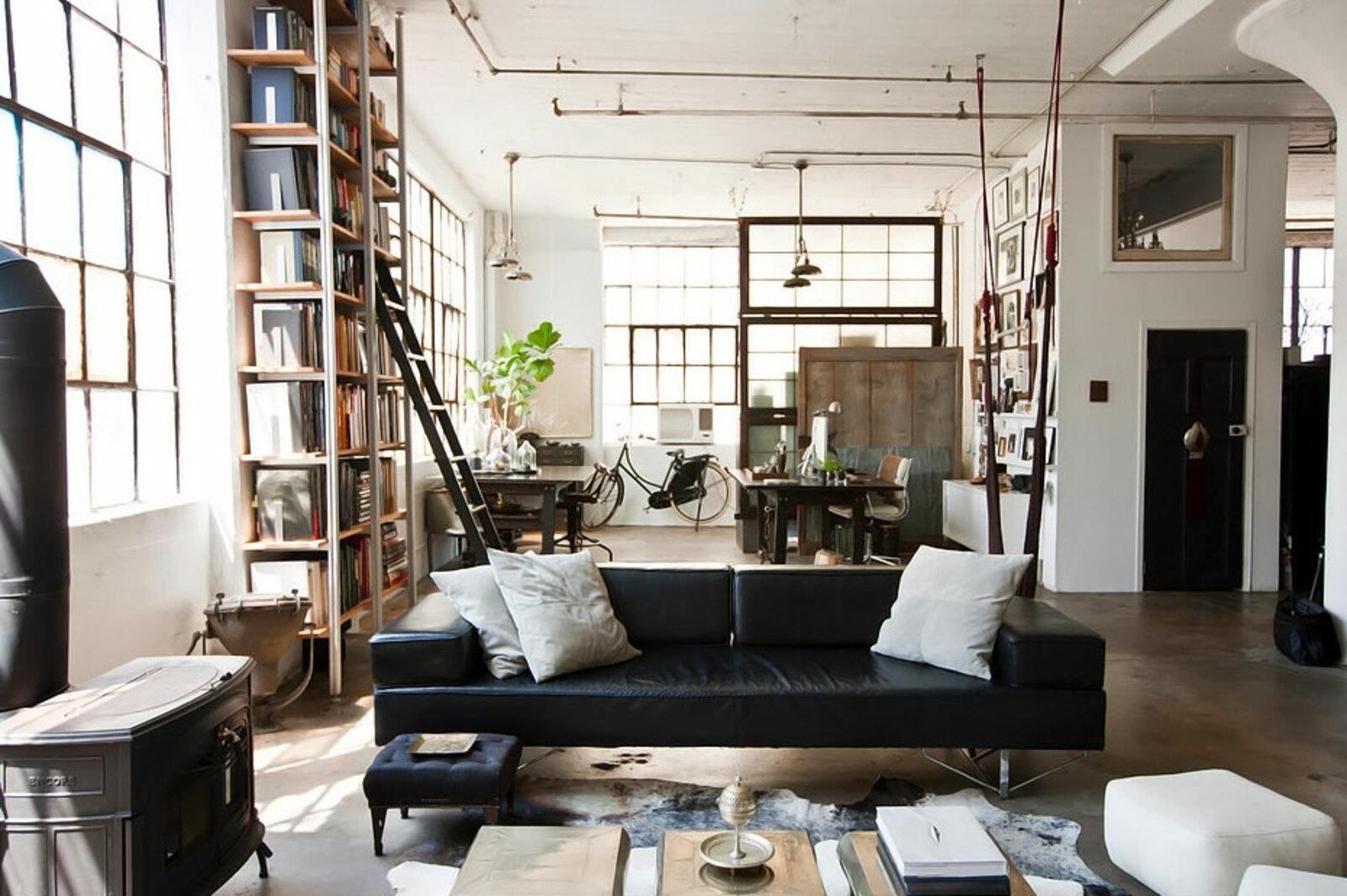 Phong cách nội thất Industrial. Mẫu thiết kế đậm chất công nghiệp