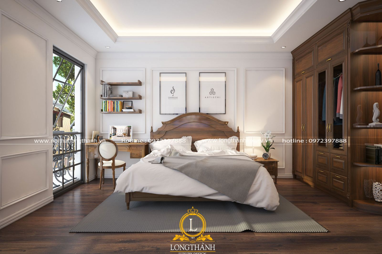 Mẫu phòng ngủ hiện đại, độc đáo dành cho người độc thân