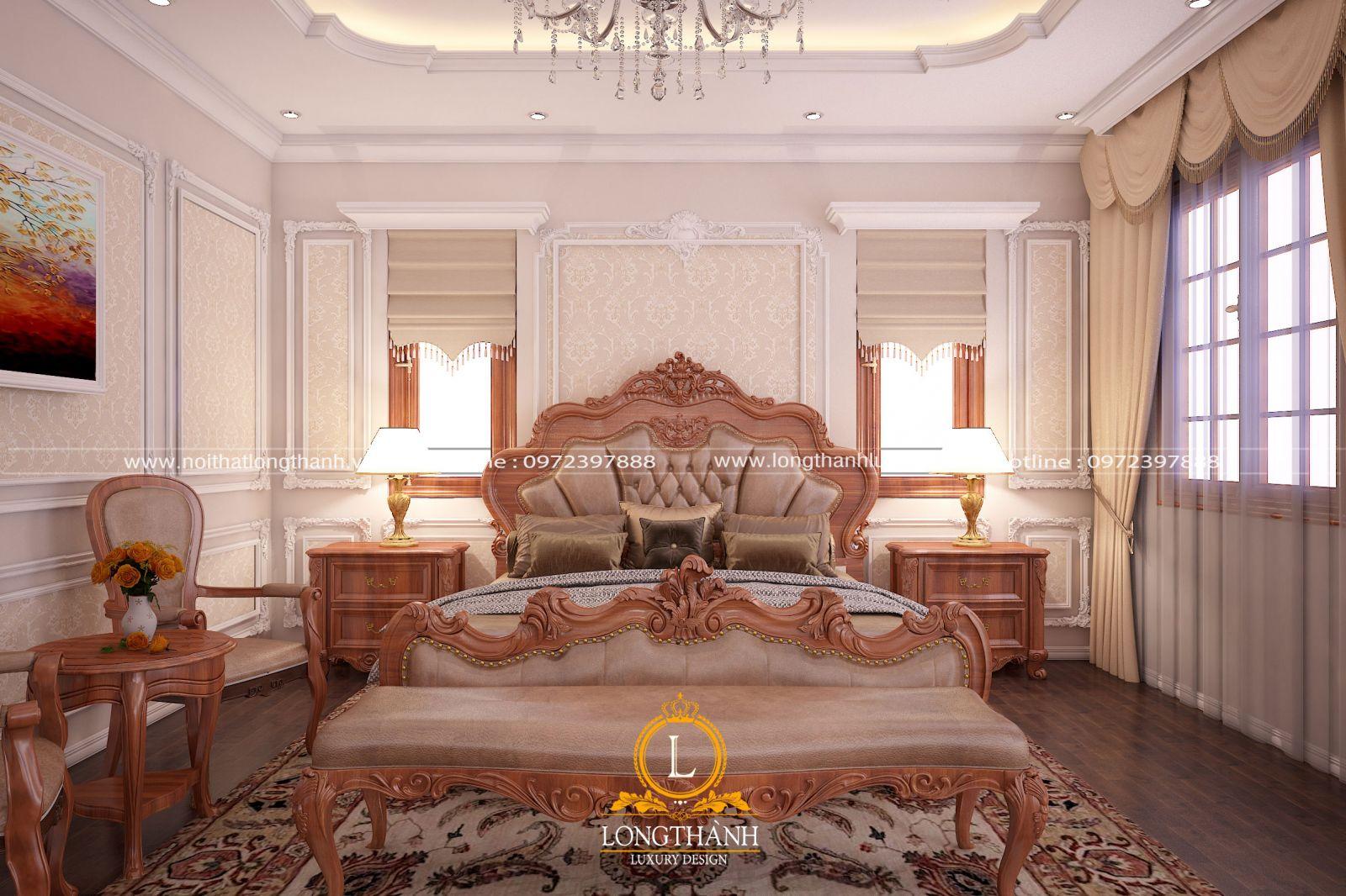 35 + mẫu phòng ngủ cao cấp cho biệt thự tân cổ điển
