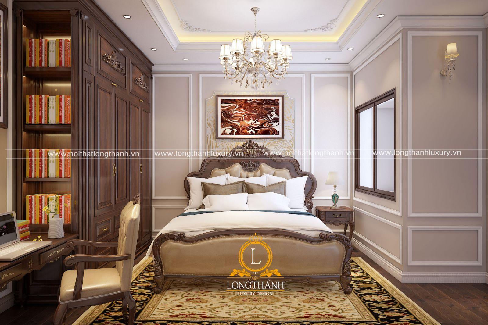 Mẫu nội thất phòng ngủ cao cấp cho không gian có diện tích nhỏ