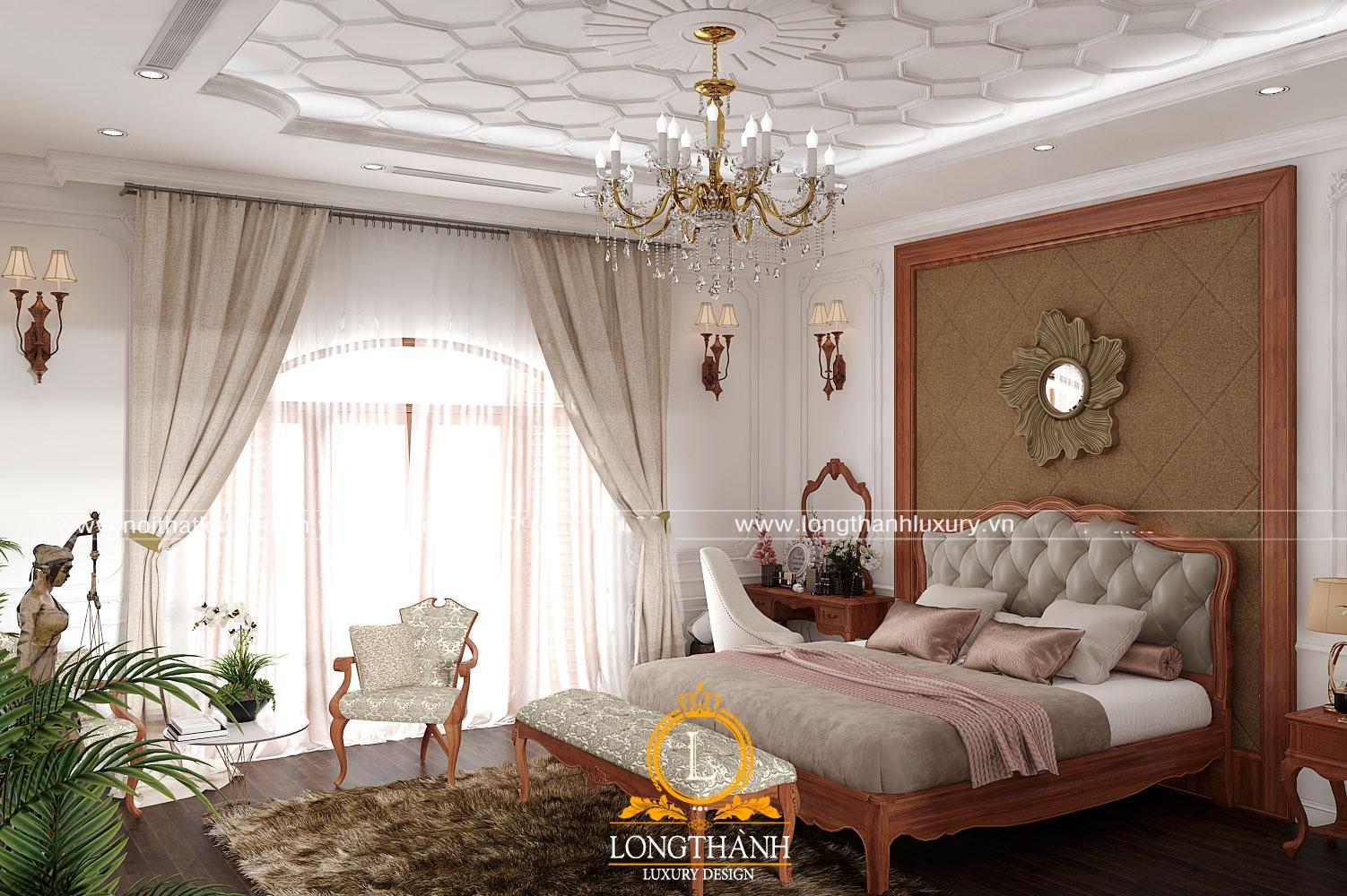 Phòng ngủ tân cổ điển – một không gian yên bình, thư thái để trở về