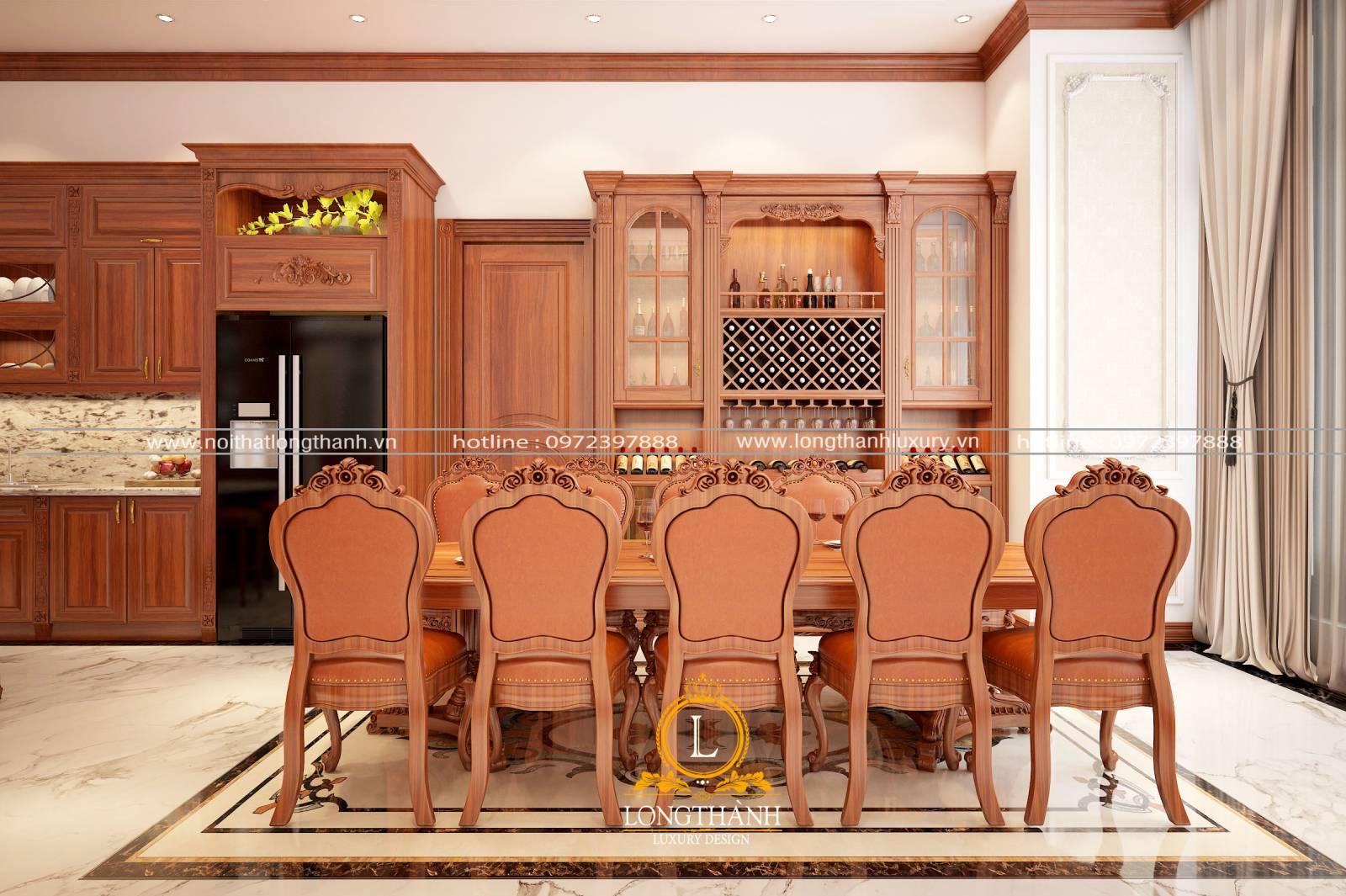 Bàn ghế ăn đẹp LT01