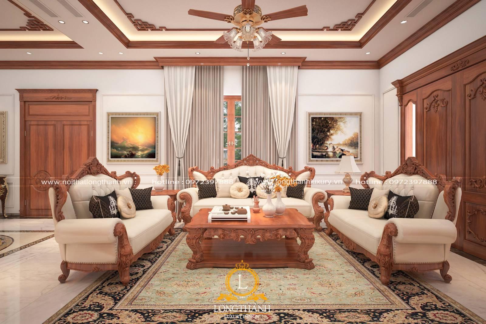 Những mẫu thiết kế nội thất tân cổ điển đẹp cho năm 2021