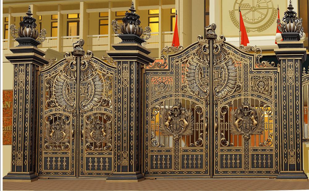 Những mẫu cổng biệt thự đẹp không thể bỏ qua