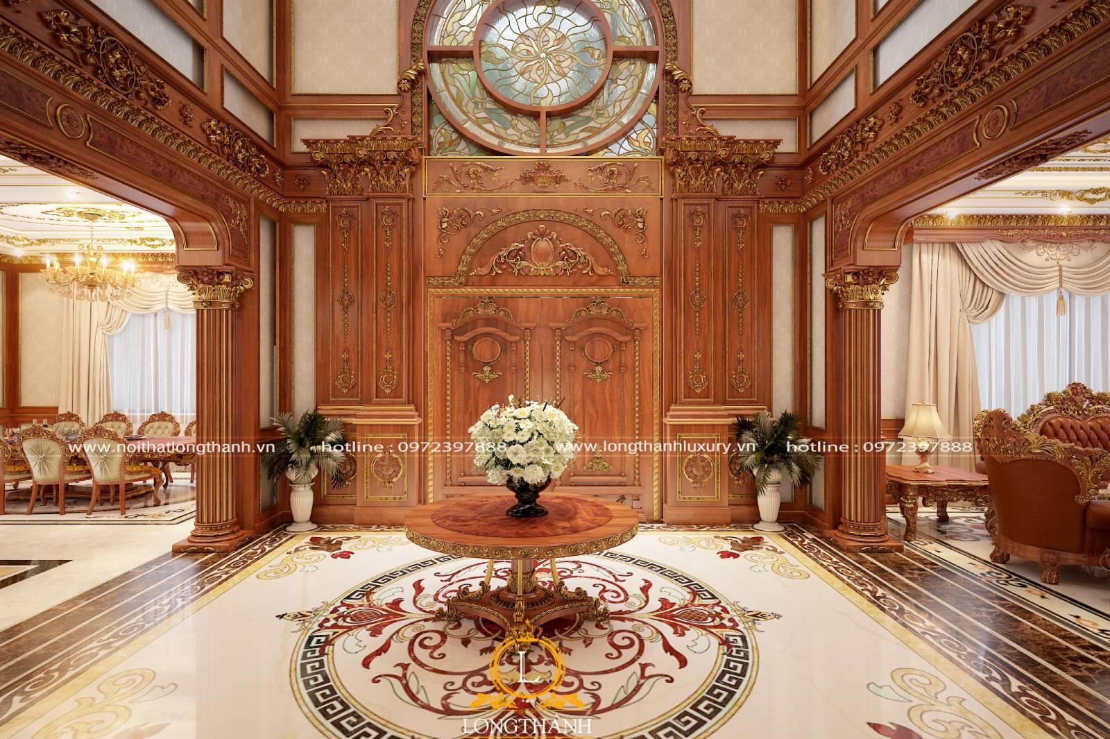 3 mẫu cửa gỗ tự nhiên đẹp nhất tại nội thất Long Thành
