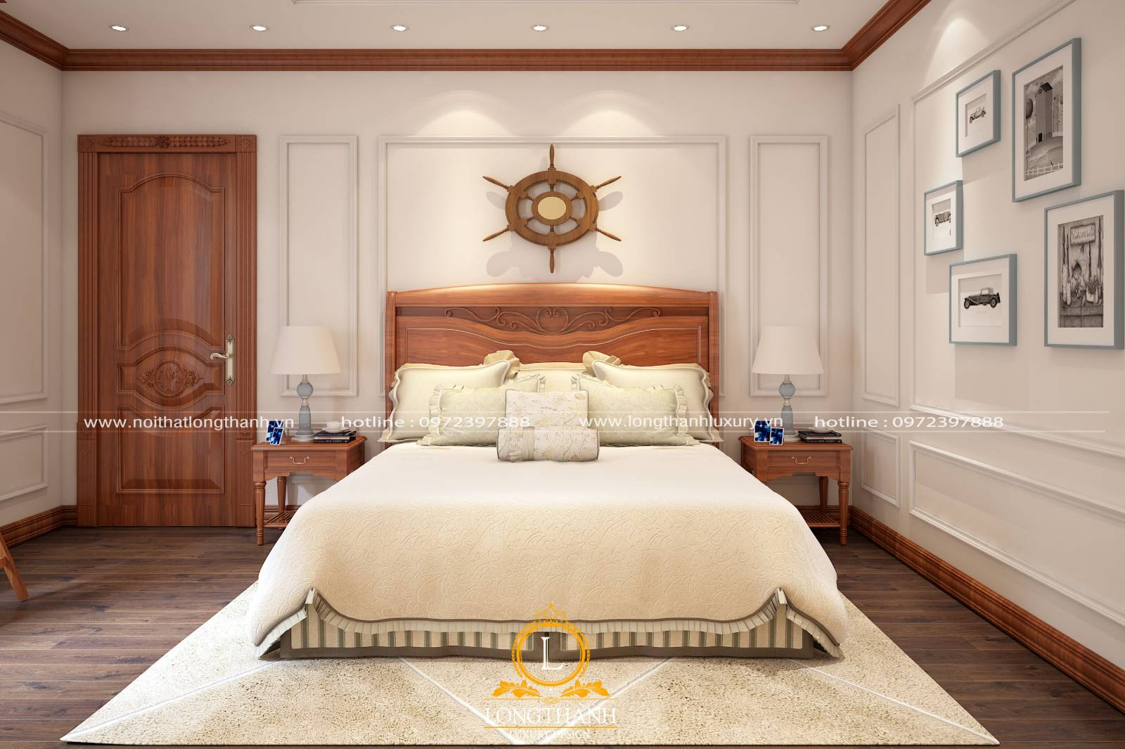 10+ mẫu cửa gỗ tự nhiên đẹp nhất cho phòng ngủ