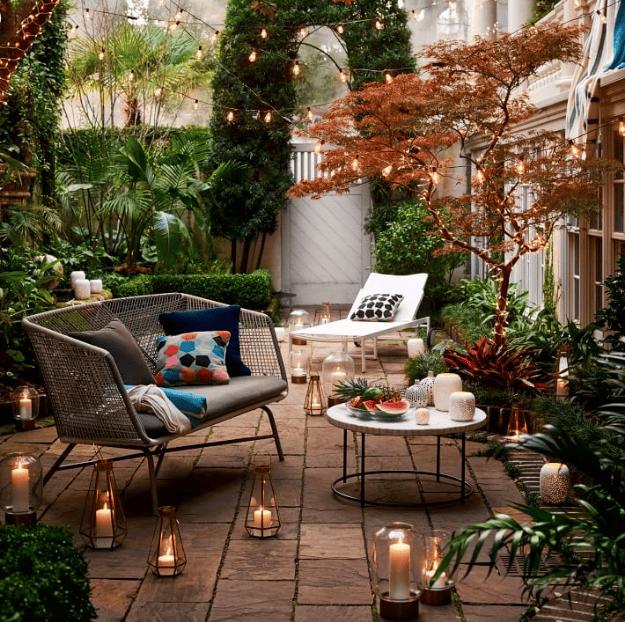 Tạo không gian lý tưởng trong sân vườn để nghỉ ngơi