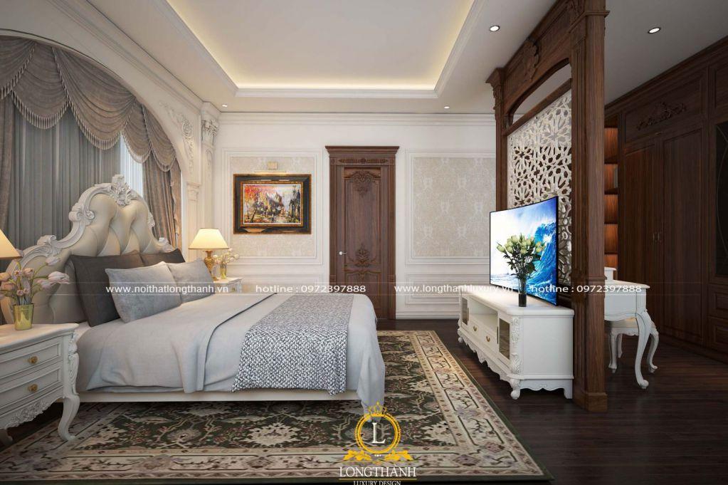 Dự án thiết kế và thi công phòng ngủ nhà anh Sơn tại TP Bắc Ninh