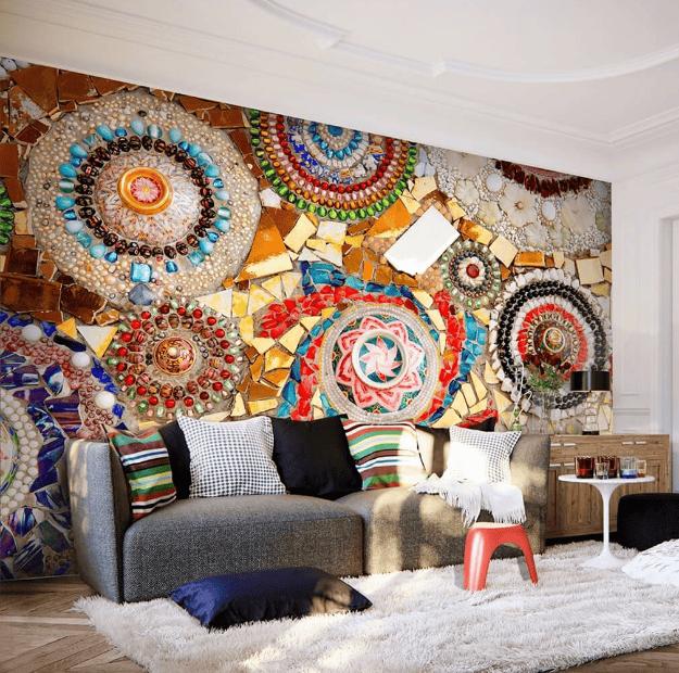 Gạch Mosaic - Những mảnh ghép nghệ thuật đầy màu sắc