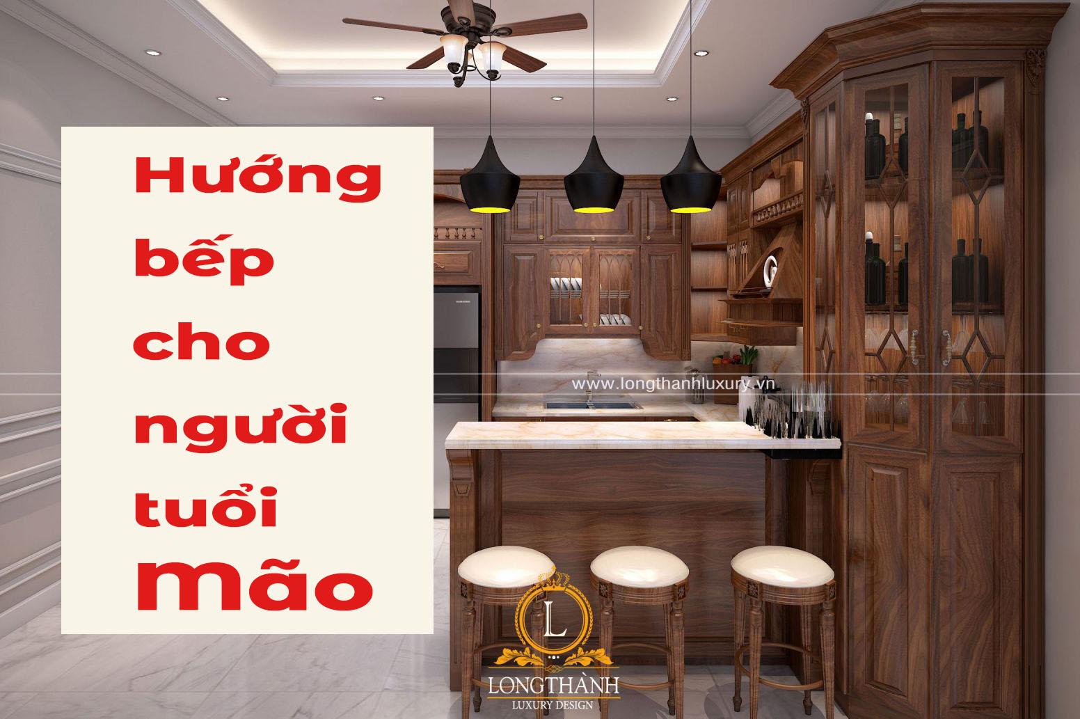 Hướng dẫn lựa chọn hướng bếp cho người tuổi Mão