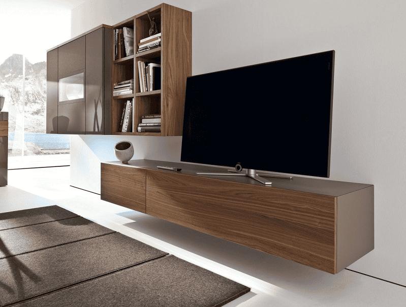 Kệ tivi treo tường. Xu hướng mới trong thiết kế nội thất