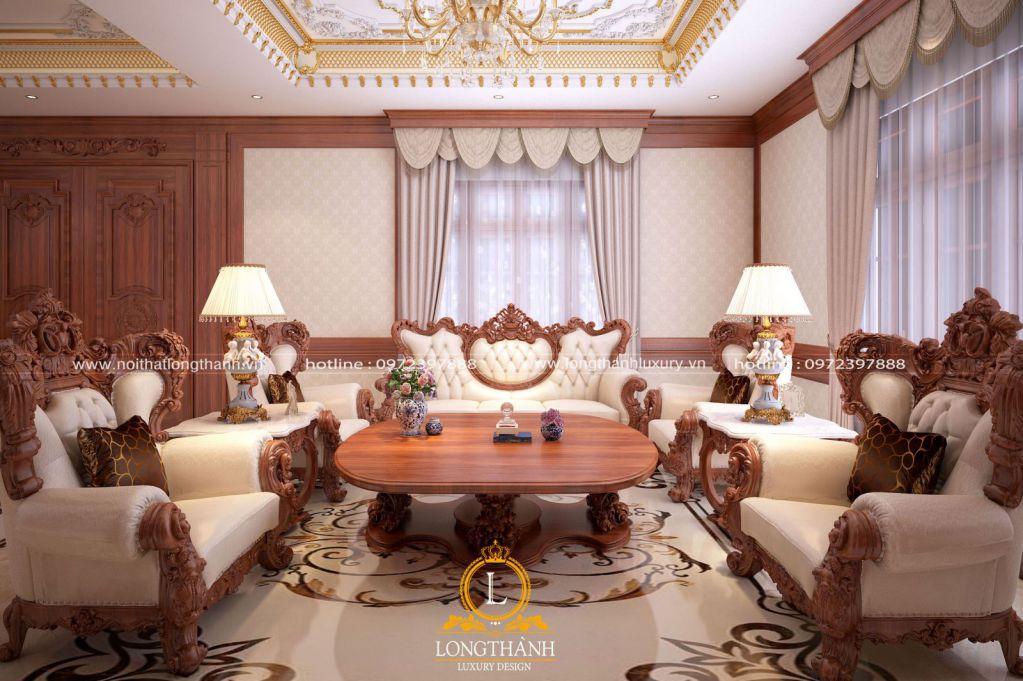 Những đặc trưng cơ bản của thiết kế nội thất tân cổ điển