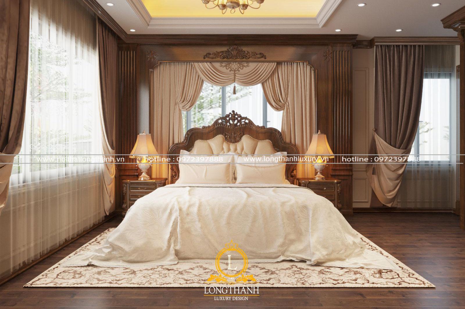 Phòng ngủ VIP cho những chủ nhân xứng tầm