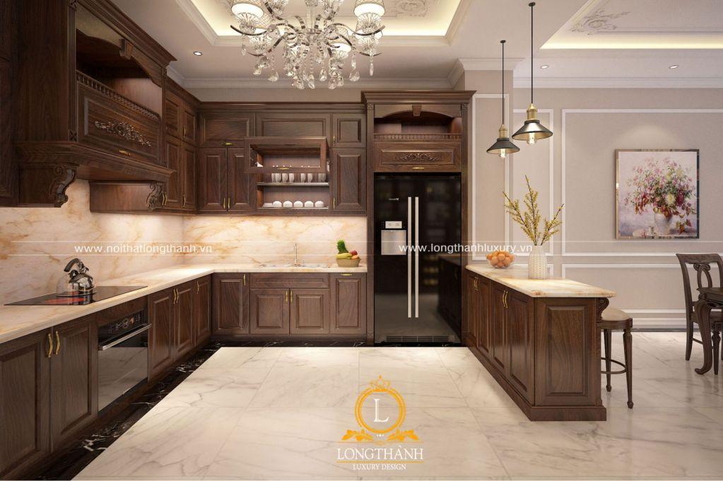 Thiết kế quấy bar trong bếp: Tại sao không?
