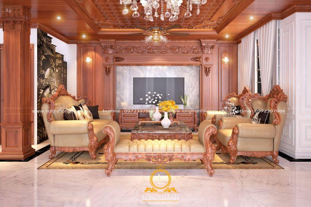 Phòng khách tân cổ điển LT36