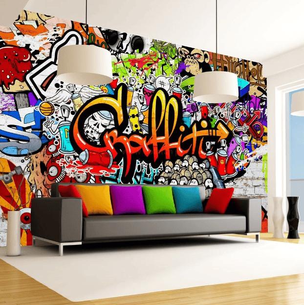Thêm nét mới lạ cho không gian sống với phong cách Graffiti