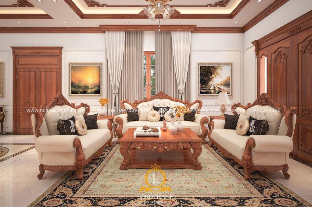 Thiết kế phòng khách hiện đại đẹp và thanh lịch