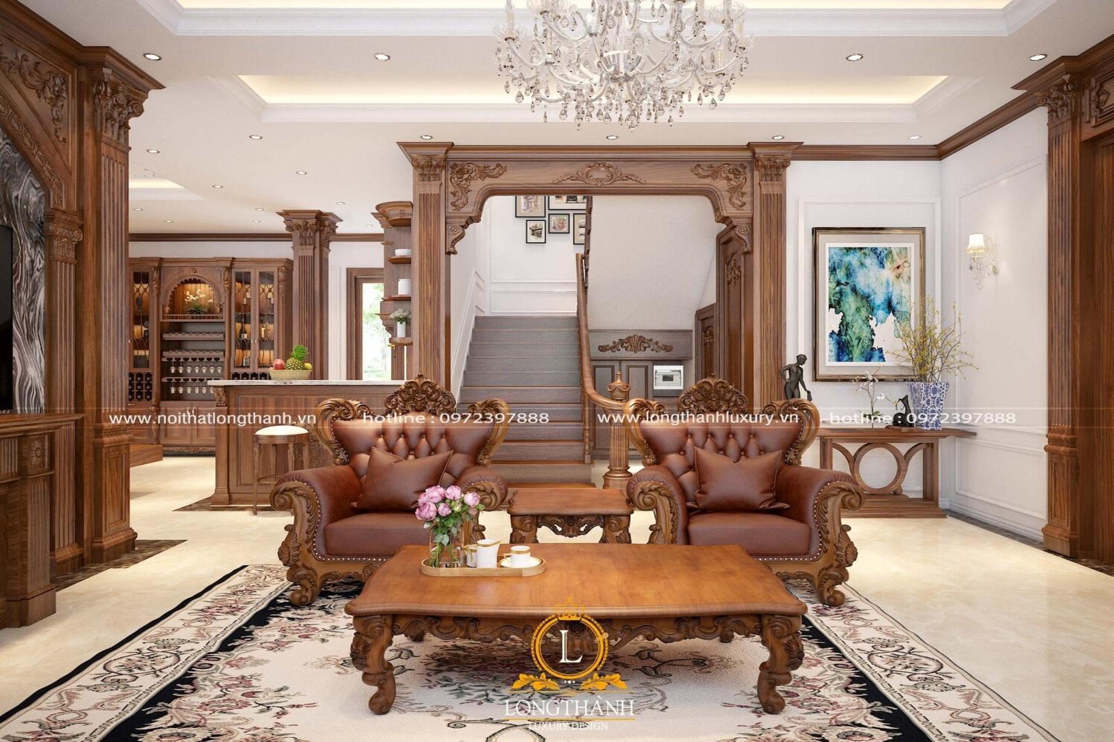 Phòng khách tân cổ điển LT04