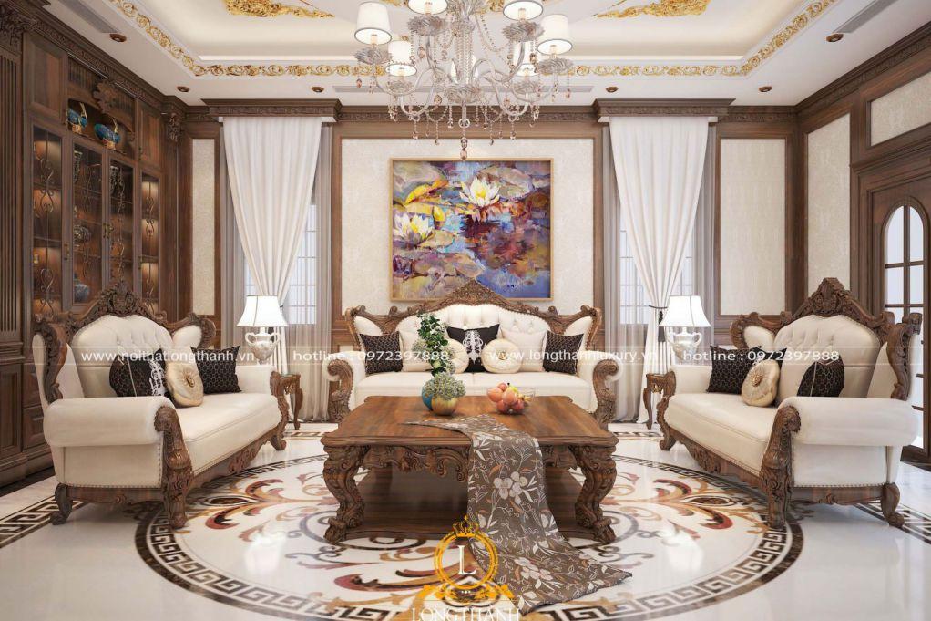 Xưởng sản xuất, chế tác sofa tân cổ điển uy tín, giá rẻ nhất thị trường