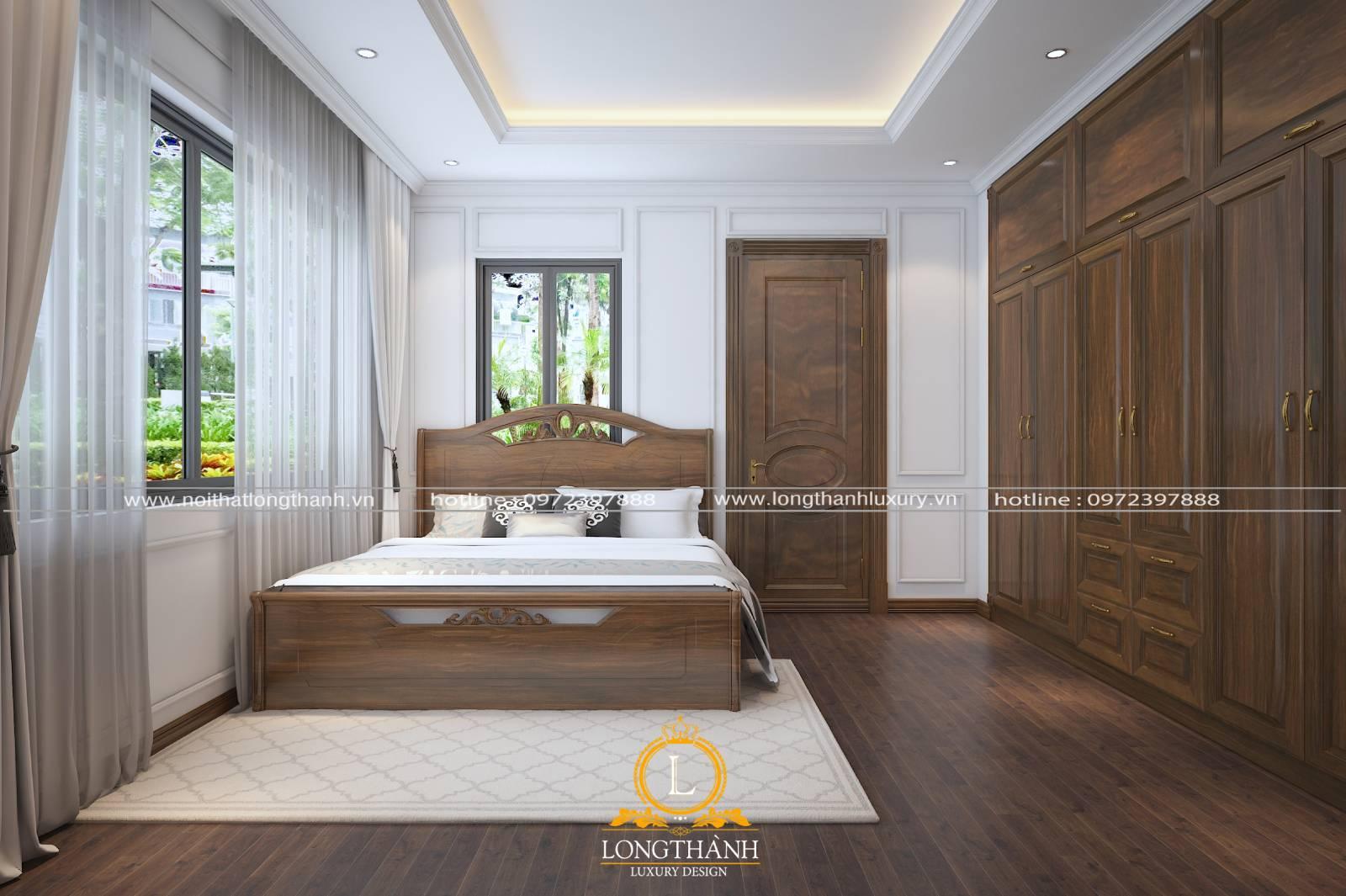 Mẫu nội thất VIP cho phòng ngủ tân cổ điển khách sạn