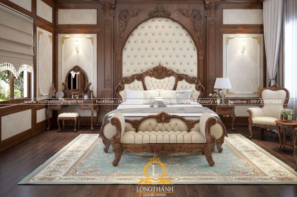 15+ mẫu phòng ngủ đẹp thiết kế theo phong cách tân cổ điển