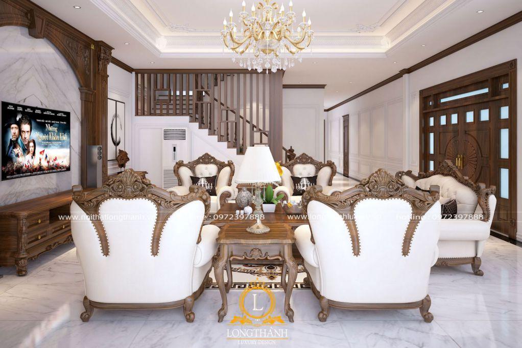 Dự án thiết kế thi công nội thất nhà chị Nguyệt Ba Vì Hà Nội